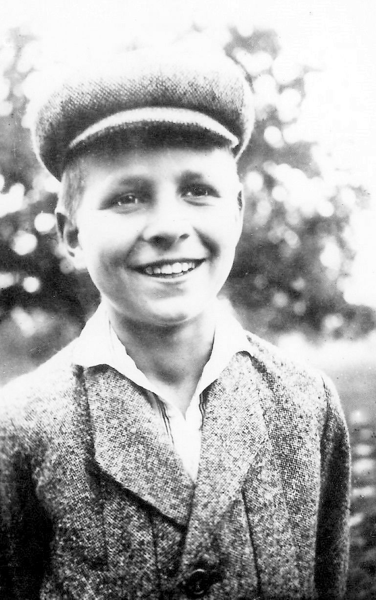 Emil Heitmann as a boy in Hamburg 300dpi