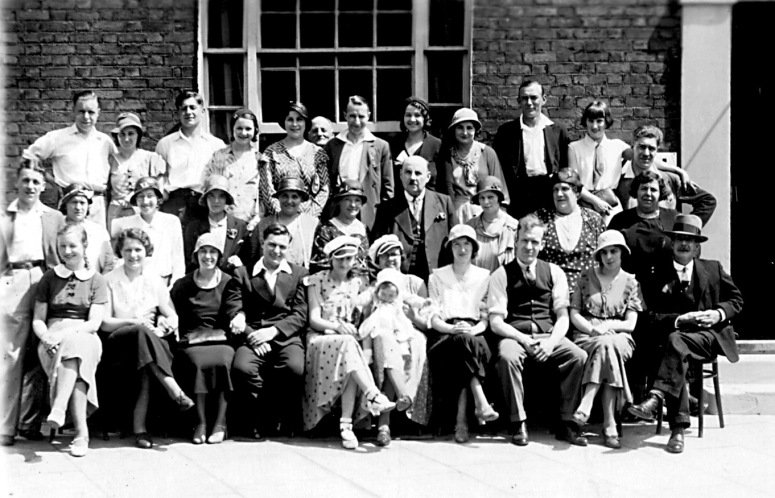 Demmel family Swedenborg Street circa 1930s